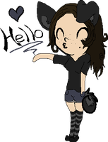 Chibi Me :3 by Super-Chey