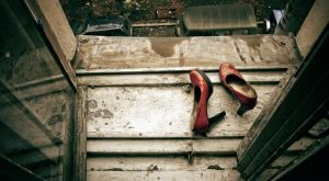 Red shoes by AlvisHamilton