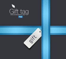 Gift Tag and Ribbon by atifarshad
