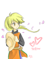 Yellow doodle by yassui