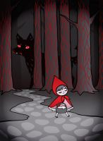 Le Petit Chaperon Rouge by nekofoot