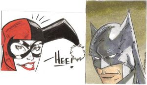 Sketch Cards by wheels9696