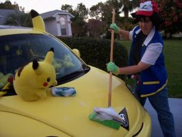 Gotta Wash the PikaBug by pikabellechu