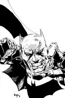 BATMAN INKED by bensonput