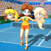 Peach, Daisy and Rosalina (1) - Request by DangerEngineer