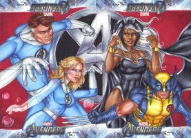 4 characters, three teams, one univers by Dangerous-Beauty778