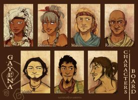 ::Gayena:: Characters Board by ayashinta