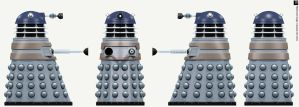 City Dalek Elite by Librarian-bot