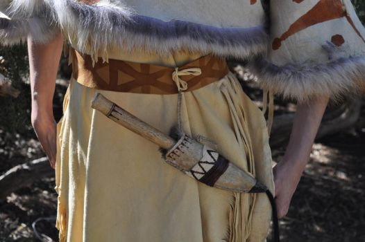Native American Woman's Knife 1 by AllergicHobbit