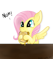 Grilled Flutter Cheese Sammich by Wonder-Waffle