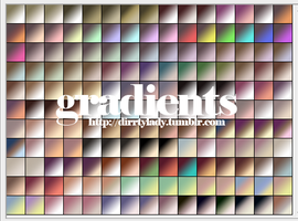 GRADIENTS 5 dirrtylady by dirrtylady