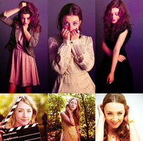 Georgie Henley and Saoirse Ronan by angelprincess101