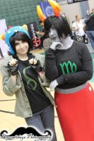 Homestuck- Kanaya and Nepeta Cosplay by DaisukeCosplay