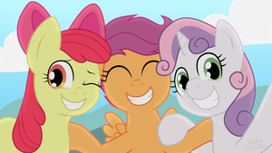 Cutie Mark Crusaders by CorsairsEdge
