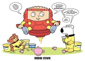MODOK Stewie by BillWalko