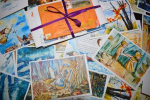 Postcards for Postcrossing by demprist