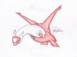 380 Latias by Hamii
