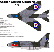 BAC English Electric Lightning by bagera3005