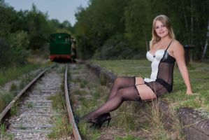 Incomming Train by janlykke