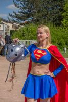 Supergirl 1 - Cybermen 0 by SissiCosplay