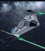 Star Wars Imperial TIE Fighter 3D by AdamKop