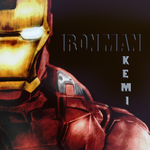 Iron Man colored by K-NASTeam