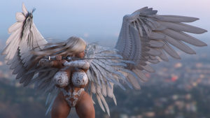 Angel - 16:9 1080px Wallpaper by Rivaliant