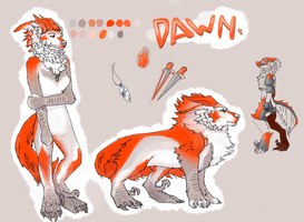 Dawn - Ref. Sheet by GreyM83