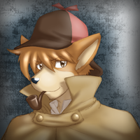 -Color Sketch- The Great Detective by Nukude