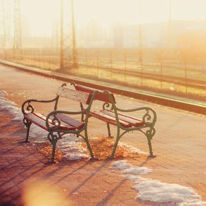Morning at the station by DorottyaS