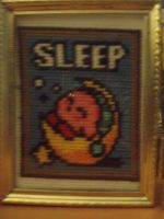 Kirby Ability Sleep X Stitch by micadjems