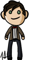 Doctor Who - Eleventh Doctor by shrimp-pops