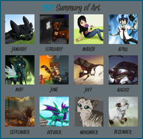 Summary of Art 2012 by CoughEBeanz
