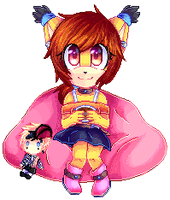 Pixel-Doll Lena by lOyamaneko