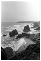 Bedruthan Steps by DoodleBe
