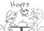 Happy Birth Me by leadhooves