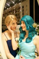 Senshi Cosplay Love by TechnoPoptart