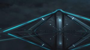 TRON Evolution Highway wallpaper by Ask-Fangthevampire