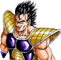 young Nappa colored by BK-81
