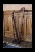 Gothic Harp by Thorleifr