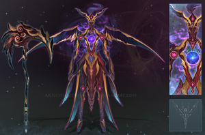 (CUSTOM) - Armored Soul #022 - Raven of Void by Timothy-Henri