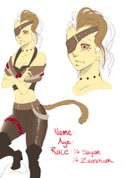 New OC: Thora by lonehuntress