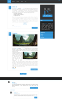 Blogger template Like ice by stupid-owl