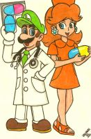 Dr. Luigi is in the house! by Villaman89