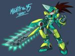 Mighty No. 45 - Shark by AndrewDickman