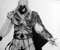Ezio Auditore - ACII by laurenrox5