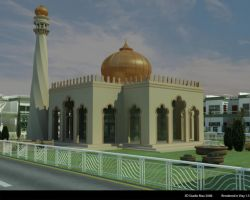 mosque by d-z-y-n-r