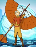 Airbender Aang by avatar-fan