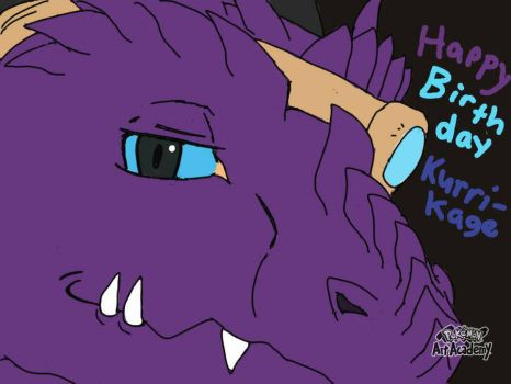 Late birthday art for kurrikage by Terrix250