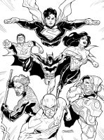 DCnU Justice League 2011 by guinnessyde